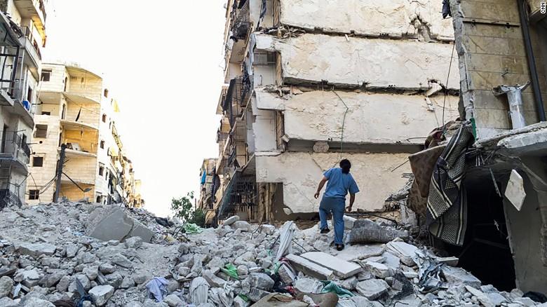 Aleppo doctors in peril