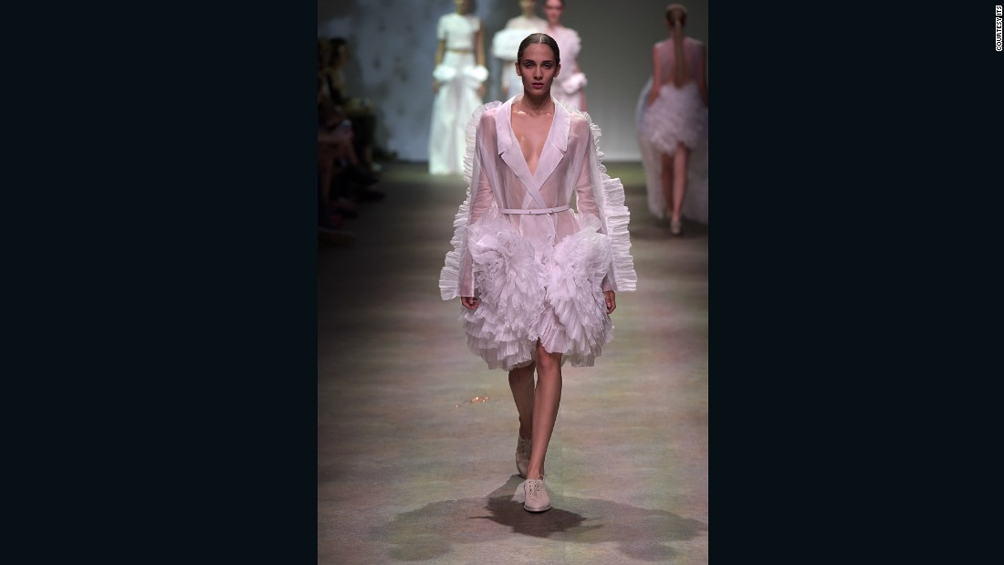 The Royal College of Art graduate won Fashion Collection of the Year and the Vogue Talents Award, earning her an interview and photoshoot on the Vogue Talents website, and a feature in Vogue Italia. <br />