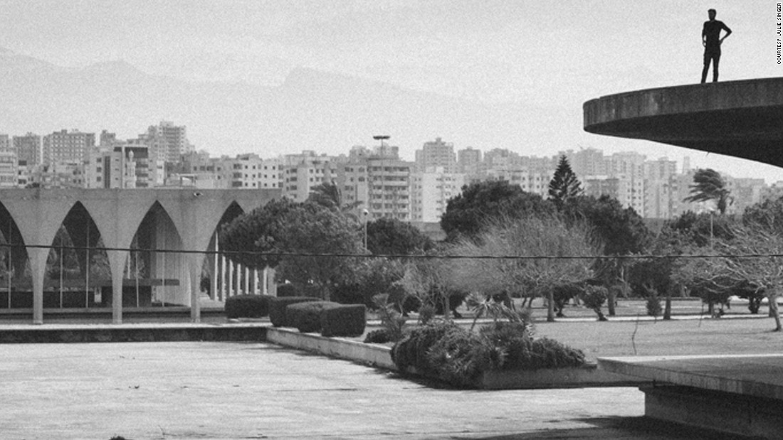 Apart from some damage inflicted during the civil war and Syrian army occupation in the 1980s, the site remains largely intact. But few people visit the park except evening joggers and occasional tourists.