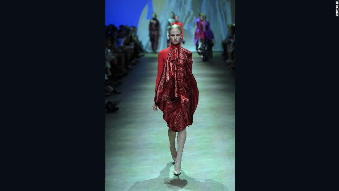 Paula Knorr's winning collection was inspired by women's thoughts, and changing notions of femininity.