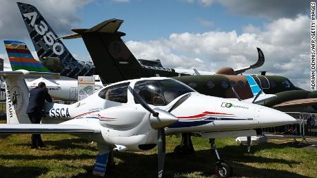 Planes at Farnborough
