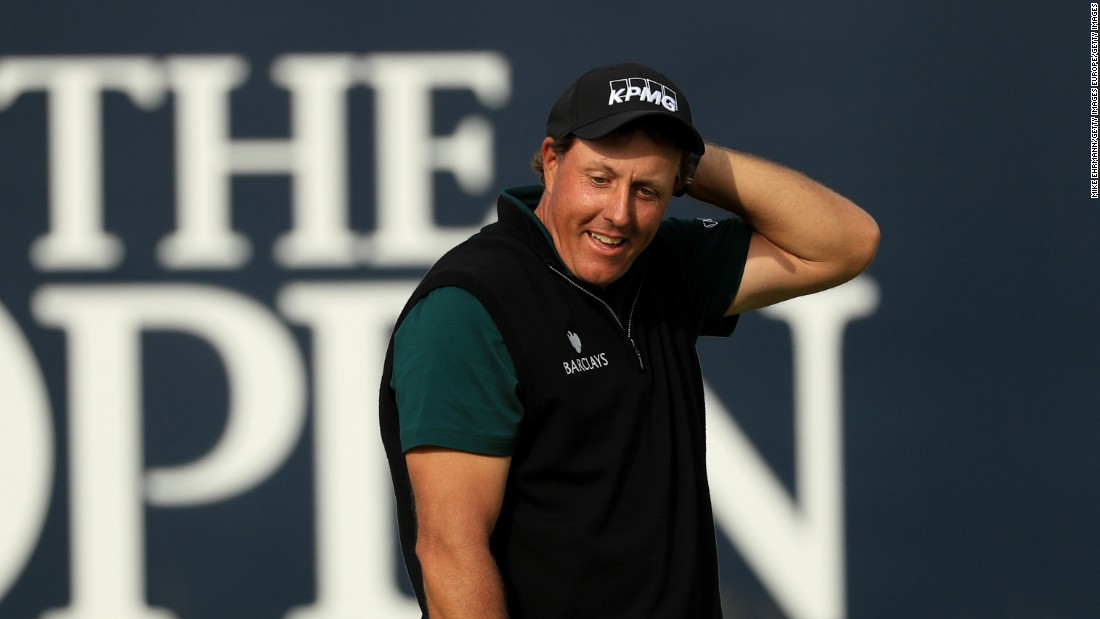 A new day, new weather and old challenge for Mickelson