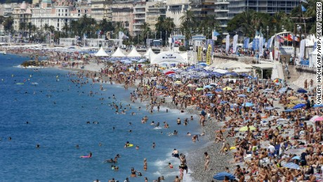 Travelers are posting their photos and memories from Nice across Instagram and Facebook