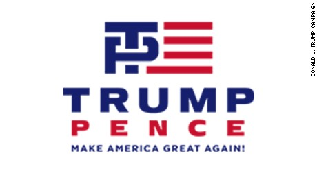 Trump-Pence unveils modified logo - CNNPolitics.com