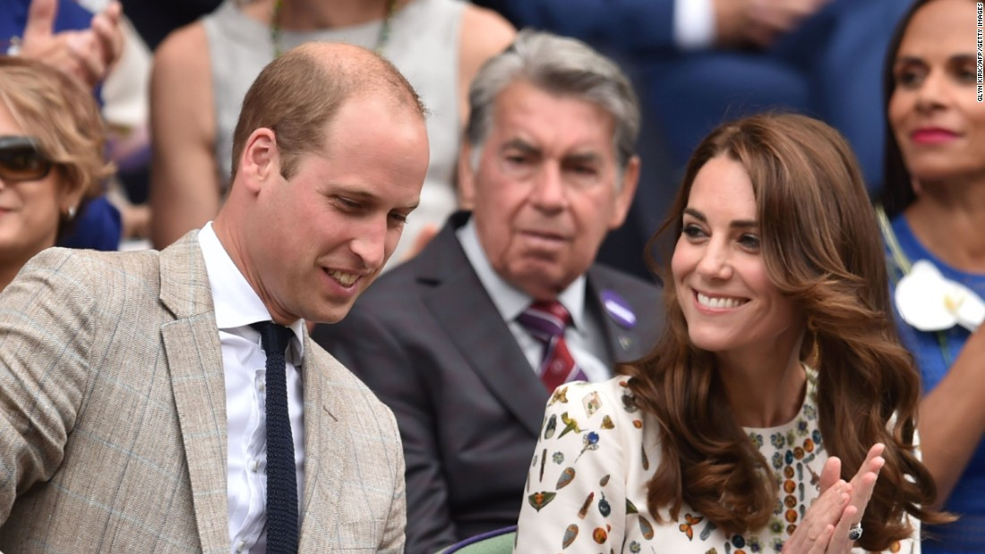 Prince William and his wife, Kate Middleton, are both regulars at Wimbledon and were in the Royal Box to watch Andy Murray win the title for a second time.