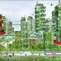 Render Città Foresta Cina 2