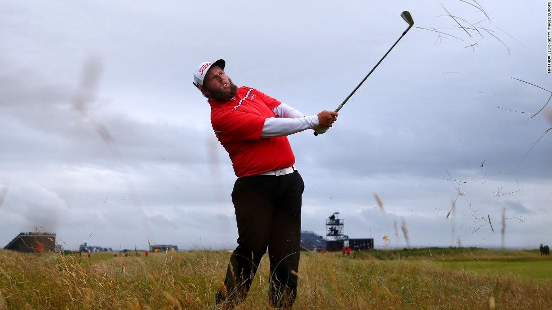 Andrew Johnston of England delighted the galleries with his play on the third day of the championship.