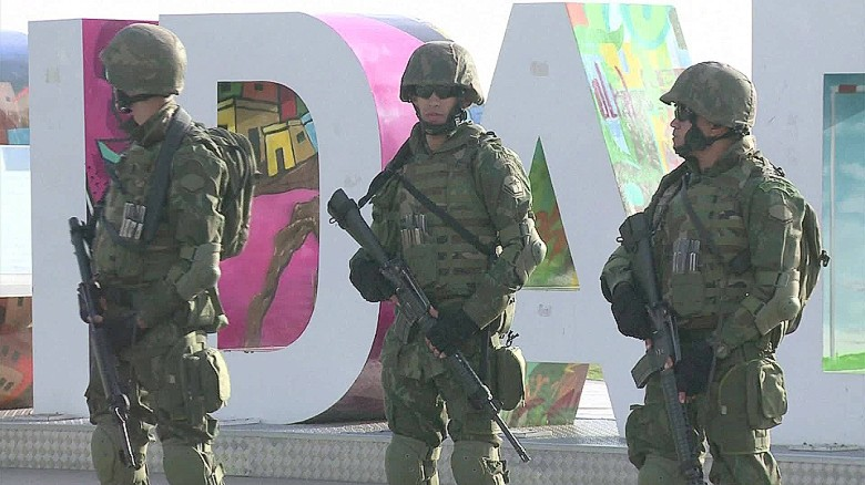 Rio reviews its Olympic security plans