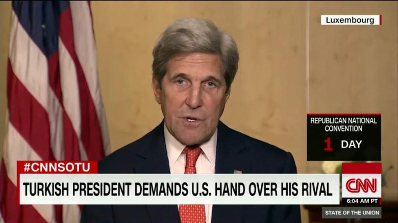 Kerry: US Had No Intel on Turkish Coup