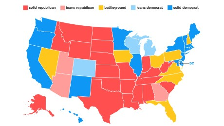 Road to 270: CNN's new electoral college map