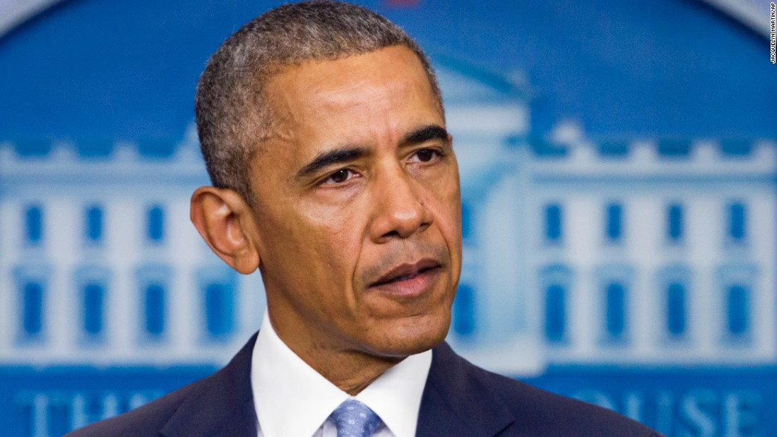 "President Barack Obama  <a href=""http://www.cnn.com/2016/07/17/us/baton-route-police-shooting/index.html"" target=""_blank"">condemned the slayings of three Louisiana law enforcement officers</a> on Sunday, July 17, as he called on the nation to condemn violence against law enforcement. ""We as a nation have to be loud and clear that nothing justifies violence against law enforcement,"" Obama said, speaking from the White House press briefing room. ""Attacks on police are an attack on all of us and the rule of law that makes society possible."""