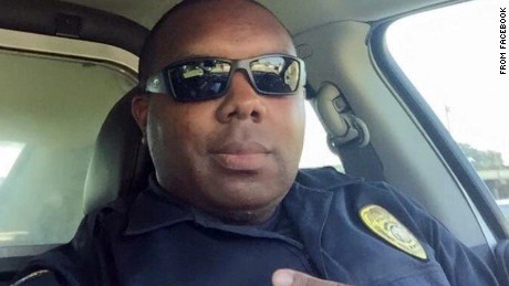 Baton Rouge Officer Montrell Jackson was killed during a firefight in Baton Rouge, Louisiana Sunday morning.