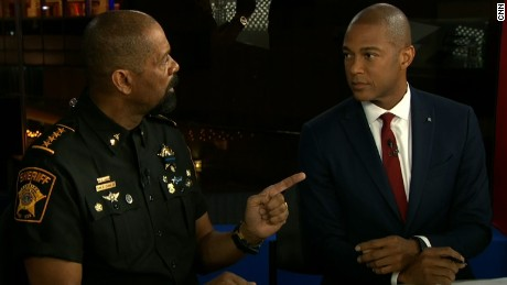 Sheriff and Don Lemon get heated over police shootings