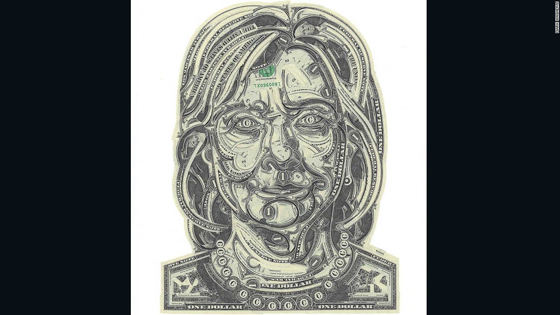 """""""A lot of American figures really are made by the U.S. currency, (so) making a president out of the US currency makes sense,"""" says Wagner."""