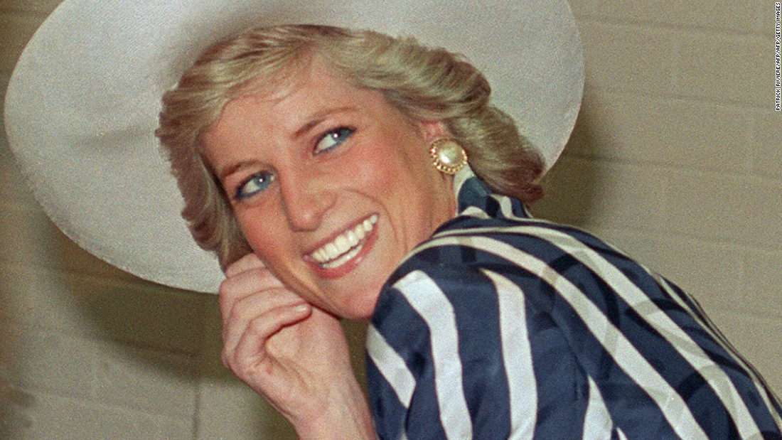 Princess Diana was as keen a tennis player and watched a number of matches at Wimbledon. She would take her children, Prince William and Prince Harry, to her local tennis club where she would play with Wimbledon champion Maria Bueno.