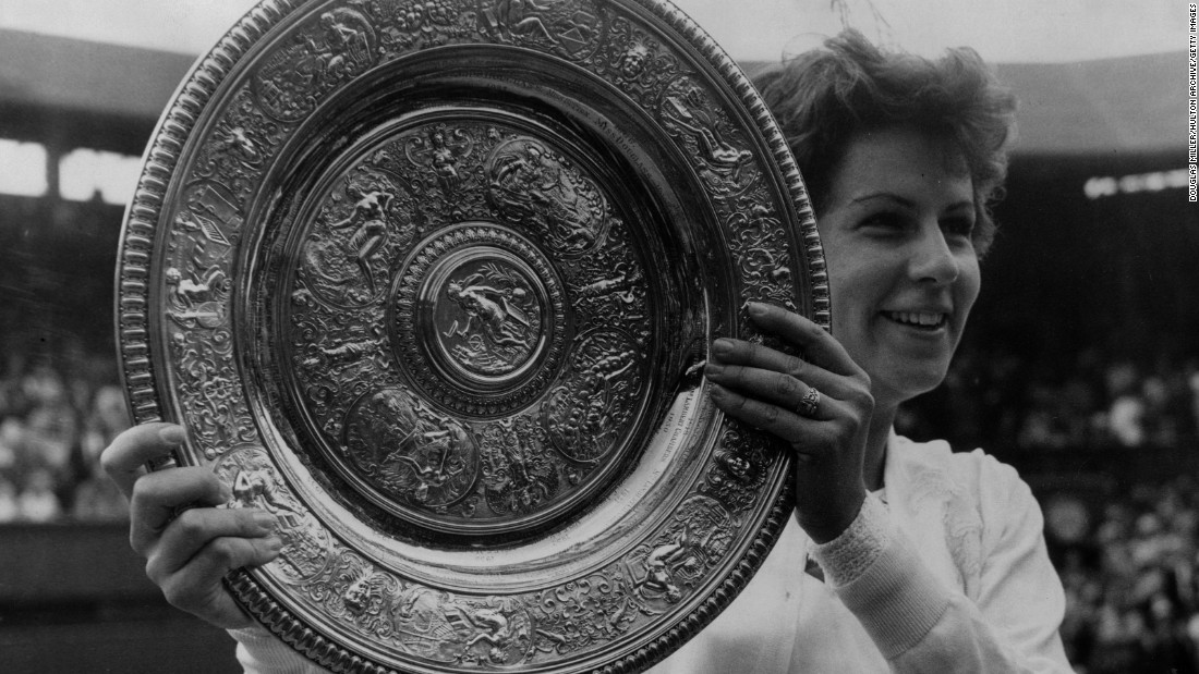 """Brazilian <a href=""""http://edition.cnn.com/2016/07/20/tennis/rio-2016-maria-bueno-princess-diana/index.html"""">Bueno won three Wimbledon singles </a>title during an illustrious career. She won seven grand slam single titles in all, as well as 11 doubles titles and one mixed doubles crown."""