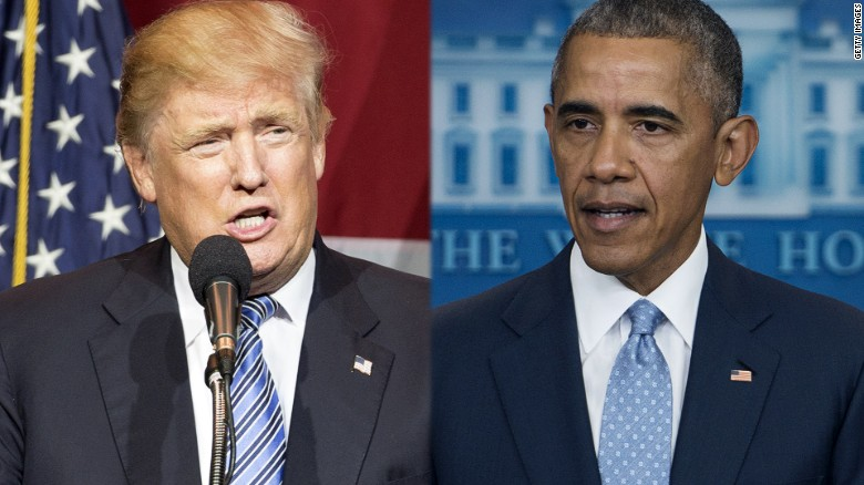 Trump calls out Obama's body language