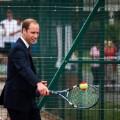 Prince William tennis
