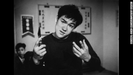 Bruce Lee portrays a young thug in an early TV performance circa the mid 1960's in Los Angeles California.