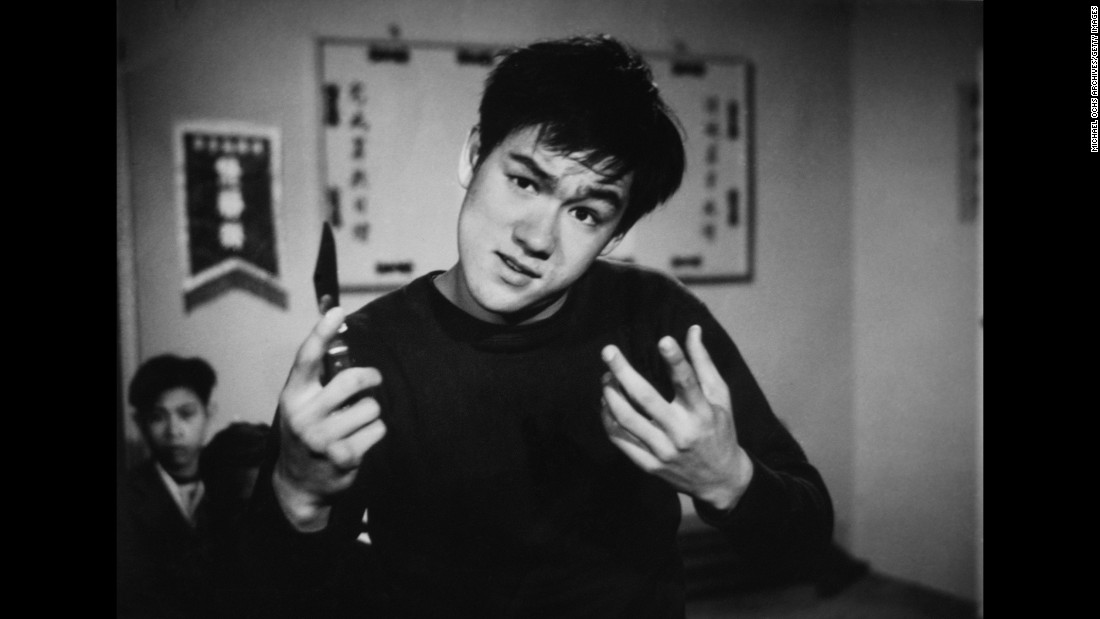 Bruce Lee portrays a young thug in an early TV performance. He acted in at least 20 films as a child actor in Hong Kong.<br />