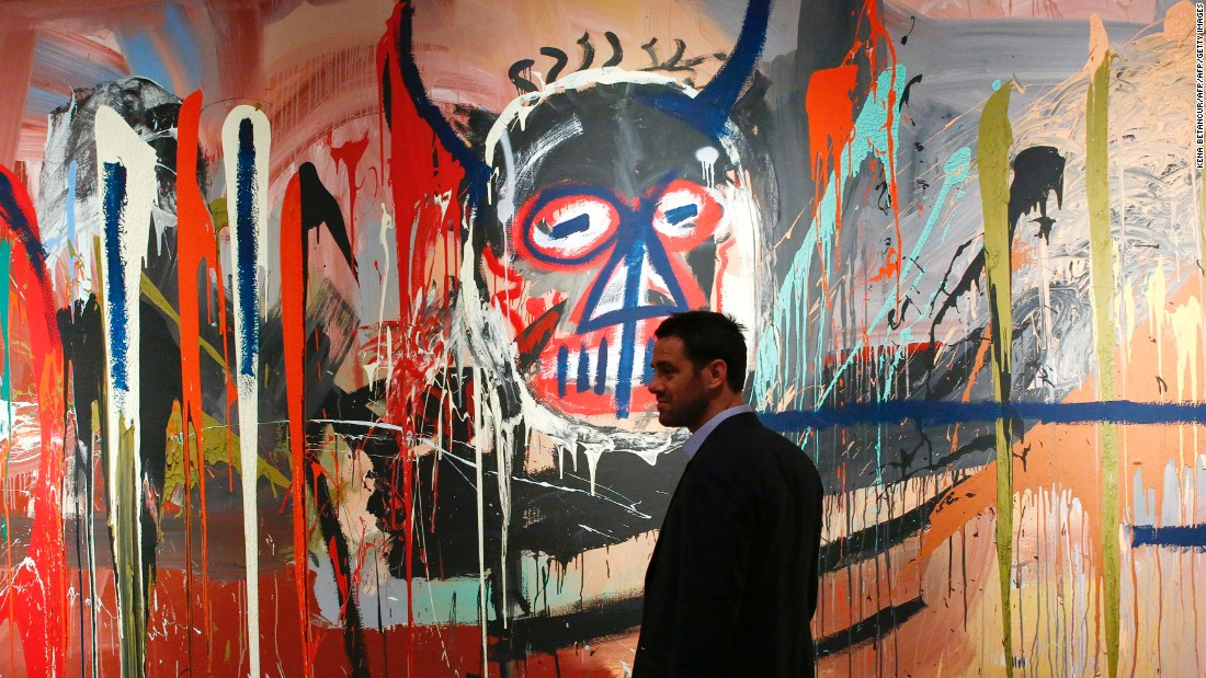 """Warhol protégé Jean-Michel Basquiat died of a heroin overdose aged 27 in 1988, leaving behind a remarkable collection of neo-expressionist art. Basquiat, a friend of Keith Haring, is extremely popular in today's contemporary art market, with """"Untitled"""" (pictured) selling for<a href=""""http://www.christies.com/lotfinder/paintings/jean-michel-basquiat-untitled-5994657-details.aspx?from=salesummary&intObjectID=5994657&sid=367d8459-f63c-4247-bf8b-126750c2c6fc"""" target=""""_blank""""> $57.3 million</a> in May 2016. His former girlfriend in an interview with <a href=""""https://www.theguardian.com/tv-and-radio/2010/dec/01/decoding-basquiat-radio-review"""" target=""""_blank"""">the BBC in 2010</a> suggests his art reflects the type of drugs he was using at the time: """"little tiny detailed paintings"""" indicative of cocaine, while large brushstrokes align with his heroin use."""