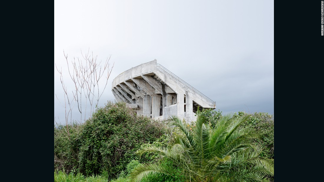 """""""The list of incomplete constructions littering the Italian landscape is remarkable,"""" Labourdette says. """"They seem to be in competition with ancient ruins [like] the Colosseum or the Roman Forum."""""""