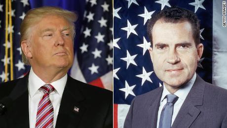 Trump campaign is Nixon's last gasp
