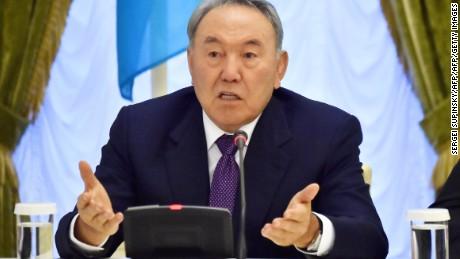Kazakh President Nursultan Nazarbayev called it an act of terrorism