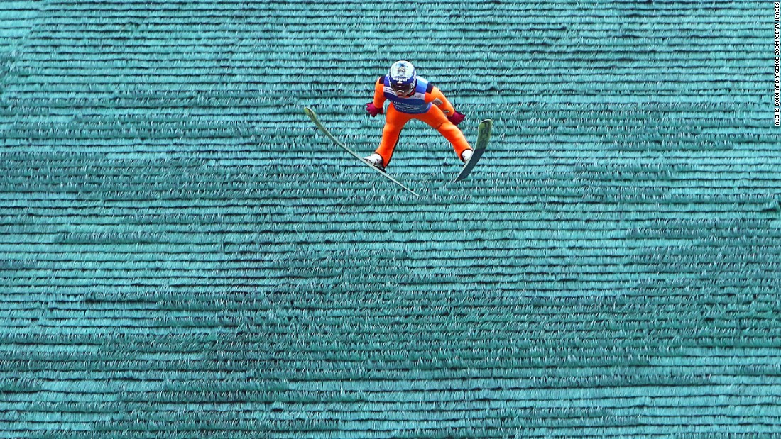 Polish ski jumper Maciej Kot won the Grand Prix event in Courchevel, France, on Saturday, July 16. It was the first event of the new season.