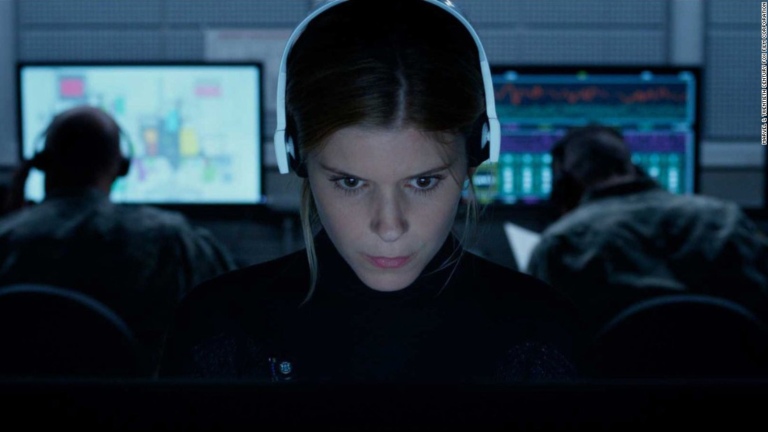 """Actress Kate Mara as Sue Storm, also known as the Invisible Woman, in """"Fantastic Four."""" The character can render herself and others invisible."""