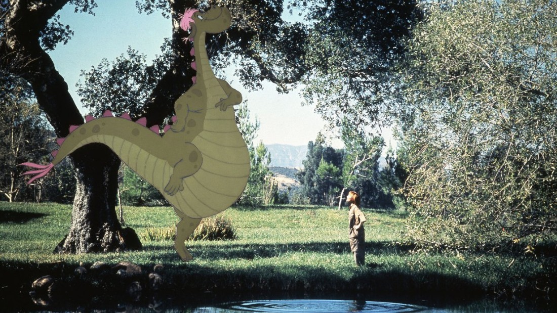 """Actor Sean Marshall in """"Pete's Dragon,"""" in which the dragon can become invisible."""