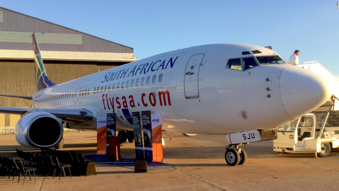 The first passenger flights in Africa to use biofuels flew between Cape Town and Johannesburg on July 15, 2016.