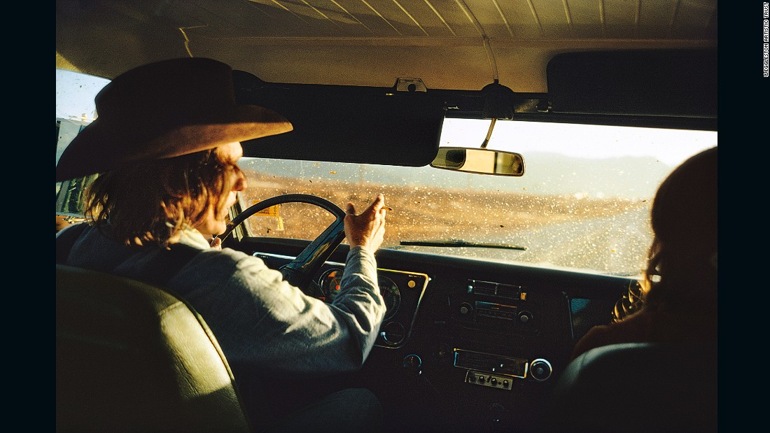 Eggleston is known for his saturated, dreamlike visions of life in the American south.