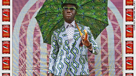 Afrikan Boy (2012) by Hassan Hajjaj. A new exhibition is looking at the suave, camp and gloriously stylish world of the black male dandy.  These dandies dress to flip conventional notions of class, taste, gender and sexuality.