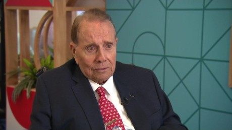 Dole discusses plans for his 93rd birthday