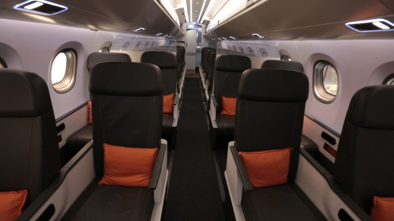 Airplane cabins of the future