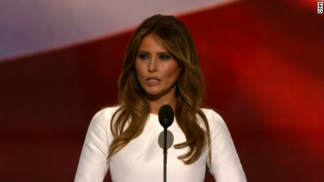 Melania Trump defends Trump remarks as