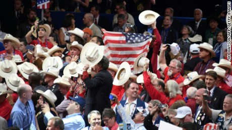 GOP convention dominated by political theater
