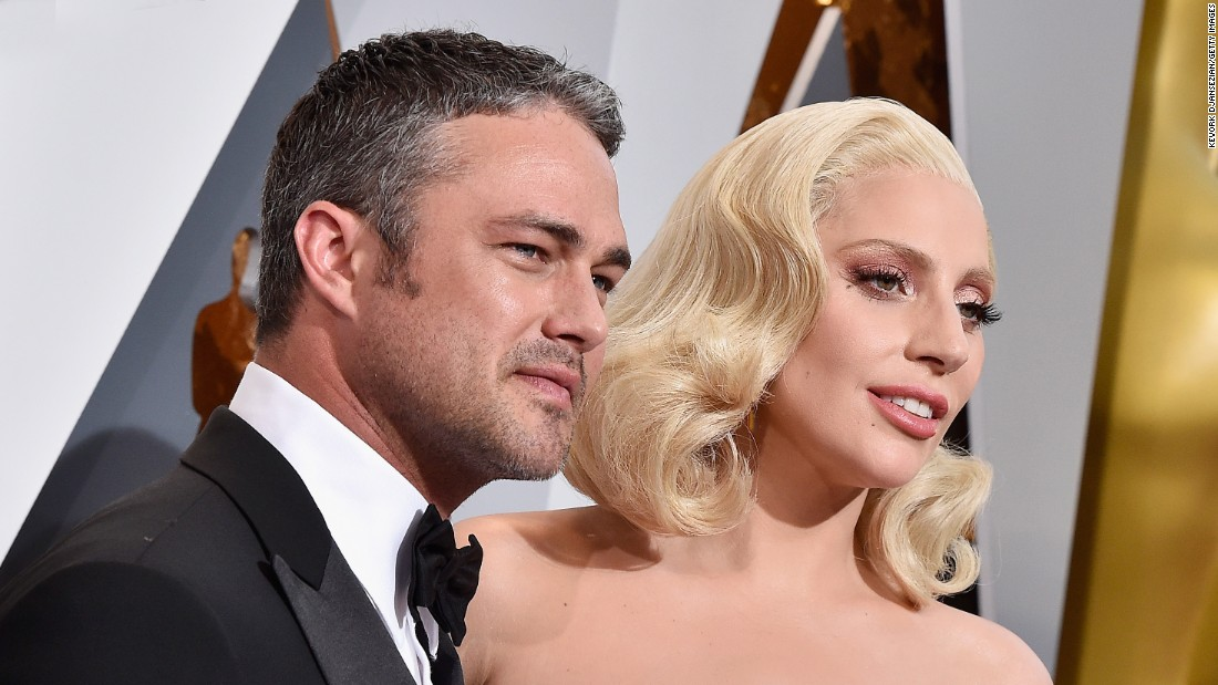 Lady Gaga said on July 20 that she and fiance Taylor Kinney were taking a break. The singer and the actor got engaged on Valentine's Day 2015.
