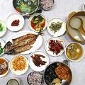 Meonggae (sea squirt) Bibimbap and grilled fish set @Donghae Shikdang