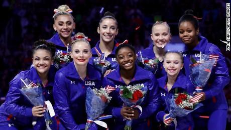 U.S. women's gymnastics team is ready to rule Rio