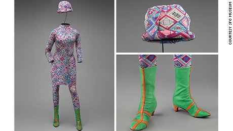 Emilio Pucci captures the '60s in full swing.