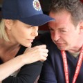 Charlize Theron with Marcus McGilvray