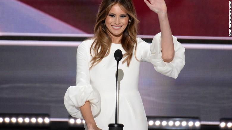 Speechwriter takes blame for Melania Trump's speech