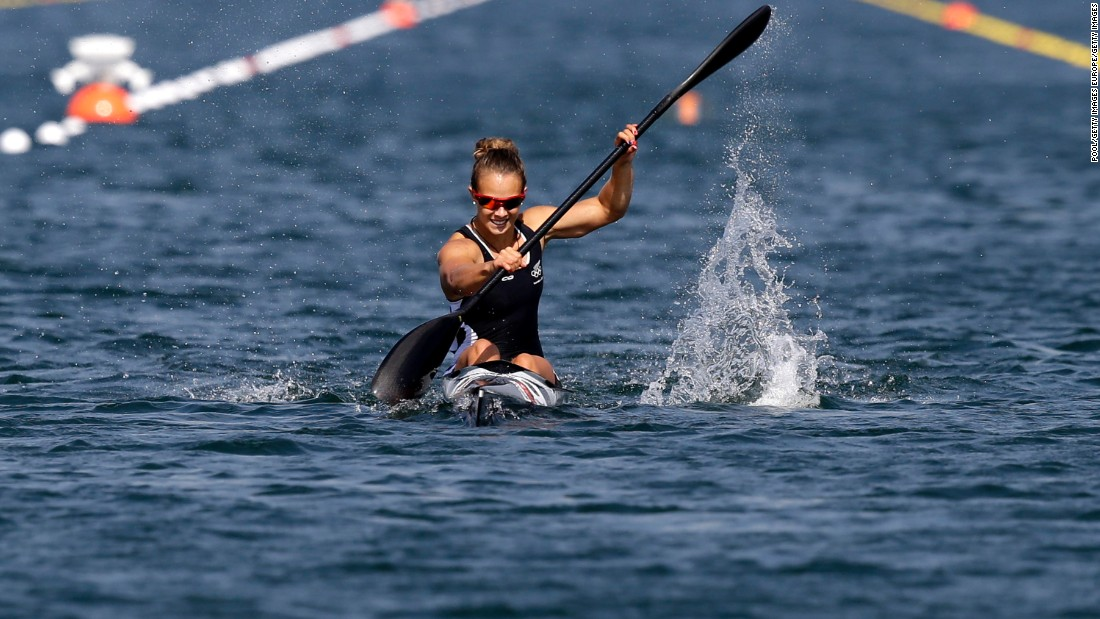 New Zealand's Lisa Carrington has ruled the waves in the canoe world since winning gold in the K-1 200m at the 2012 Games -- just a year after she had become world champion. The 27-year-old is going for gold in both the K1 200m and K1 500m and is unbeaten in the shorter distance over the past five years. She won her fourth consecutive world title over the K1 200m distance last year, after securing the K1 500m world championship crown for the first time.