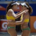 Talita Antunes and Larissa Franc