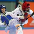 Olympic refugee team Raheleh Asemani belgium taekwondo