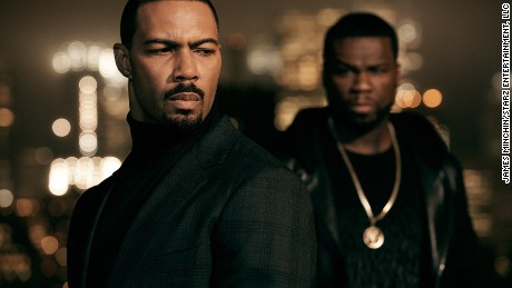 "Omari Hardwick stars as James ""Ghost"" St. Patrick and Curtis ""50 Cent"" Jackson as Kanan on ""Power."""