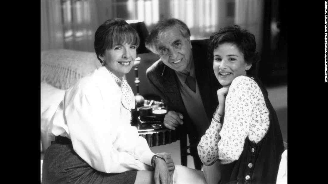 "Marshall with Diane Keaton, left, and Juliette Lewis for the film ""The Other Sister"" in 1999."
