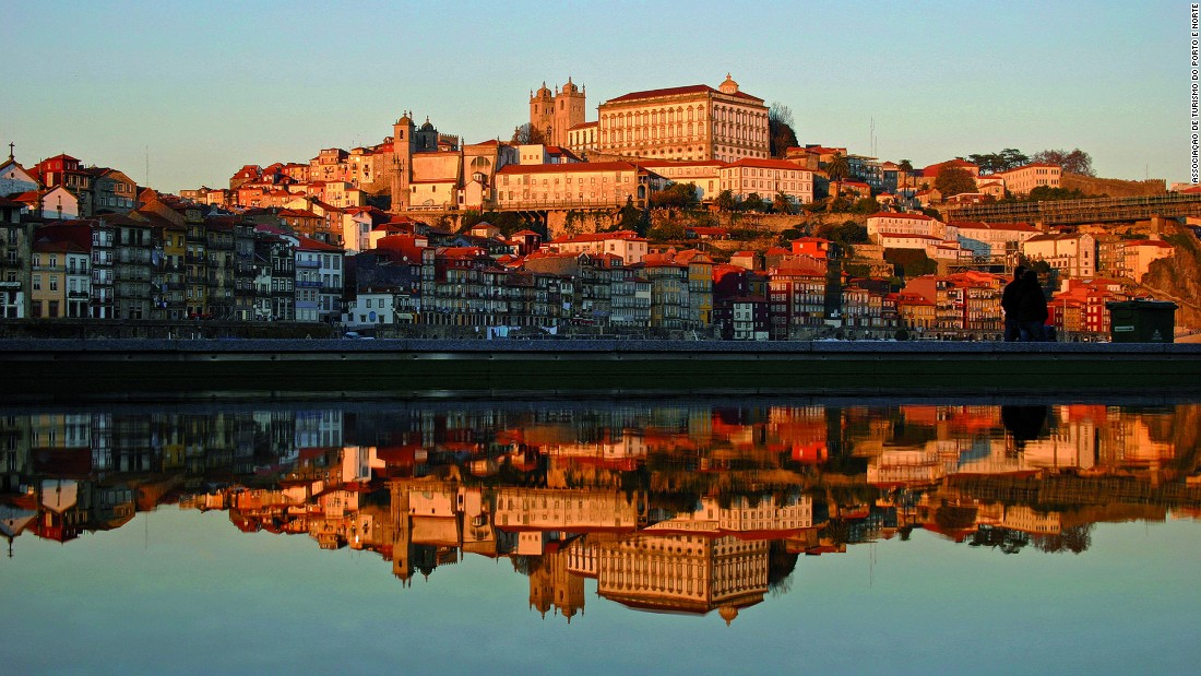 Porto lies on the outlet of the Douro river. In addition to the old stuff, it's got a lively nightlife and creative scene.